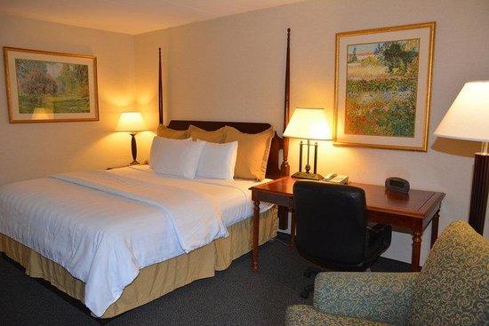 Chapel Hill University Inn: Deluxe King Bed room Non-smoking