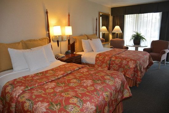 Chapel Hill University Inn : Deluxe Two Double Beds Non-smoking