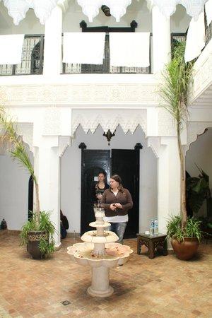 Riad Hannah City Hotel : Binnenplaats