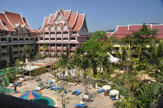 Aonang Ayodhaya Beach Resort: Вид с балкона