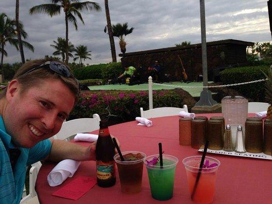 Waikoloa Beach Marriott Sunset Luau: tasty drinks