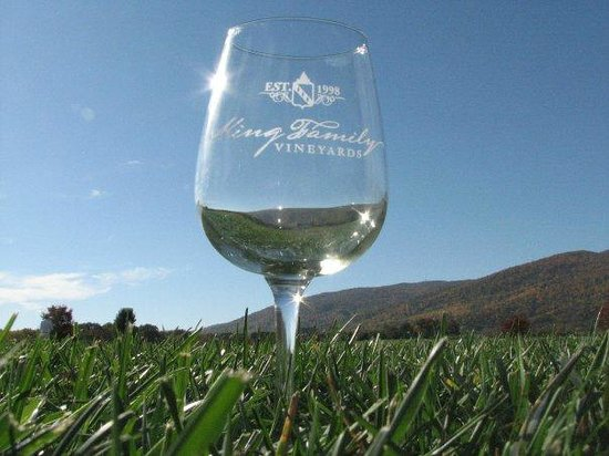 King Family Vineyards: Wine Glass