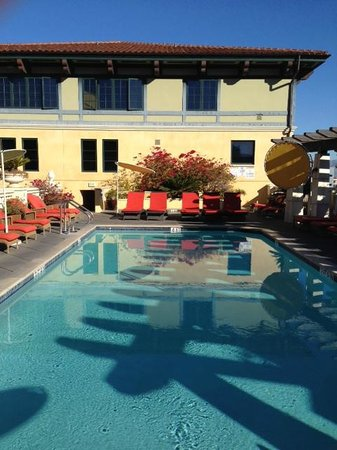 Hotel Valencia - Santana Row: Great Tanning Location