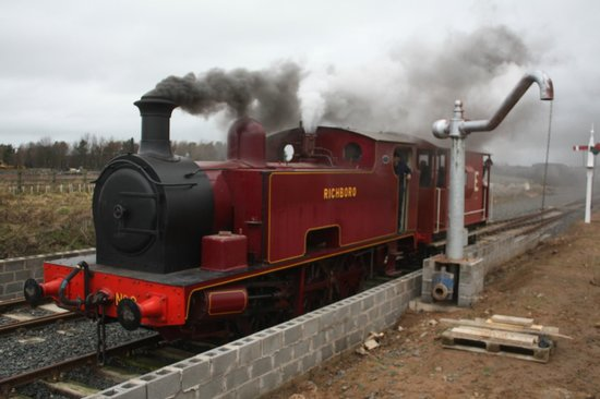 Alnwick, UK: Richboro Steam Engine