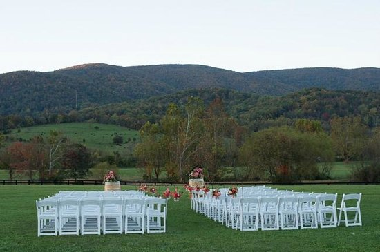 King Family Vineyards: Ceremony Site