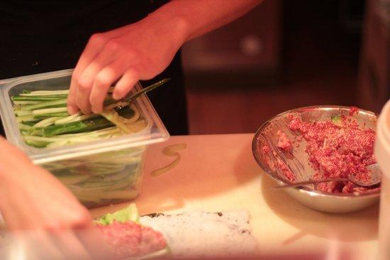 Sushi d'Éli : tartare
