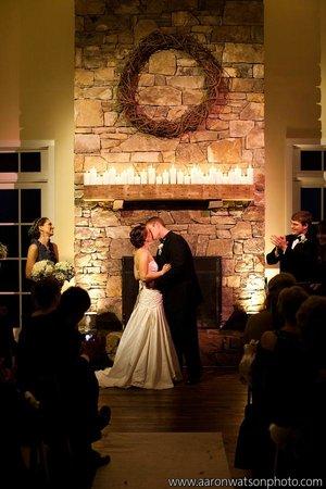 King Family Vineyards: Ceremony Kiss