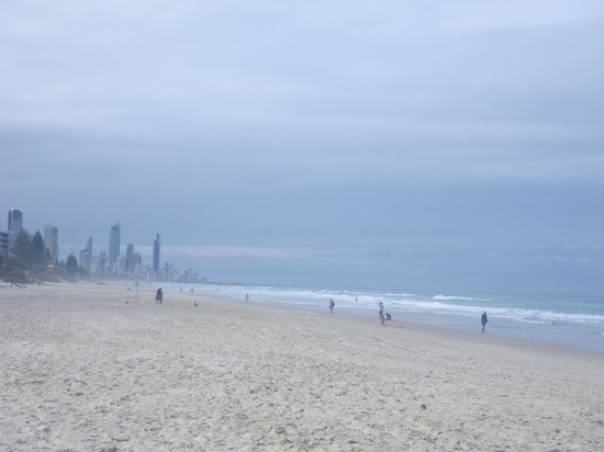Spindrift On The Beach: La plage