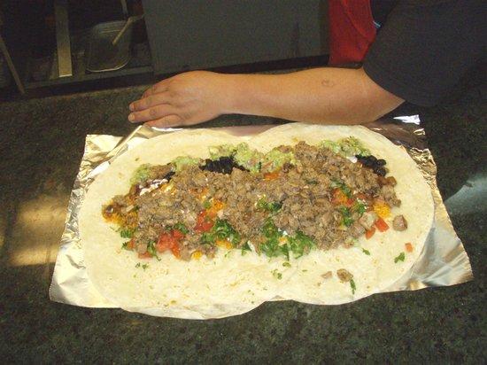 La Costena: Their super buritto, it is so tasty!