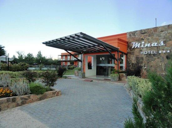 Minas Hotel: Fachada del Hote