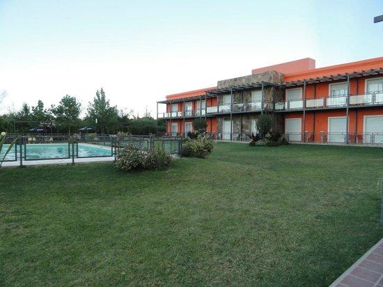 Minas Hotel: El parque