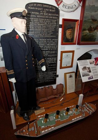 Exhibits in Maryport Maritime Museum ..
