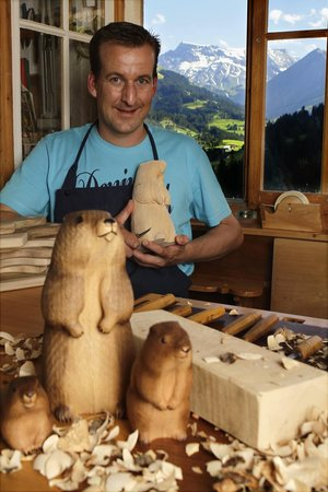 Adelboden, Switzerland: Kurt Trummer