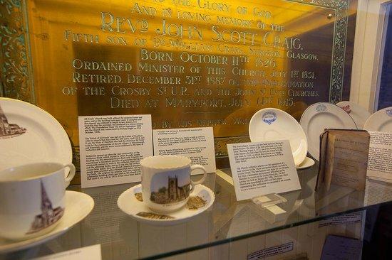 Exhibits in Maryport Maritime Museum ..