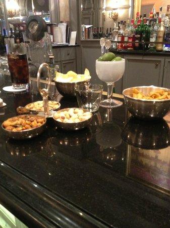 The St. Regis Rome: Best Bar Snacks EVER