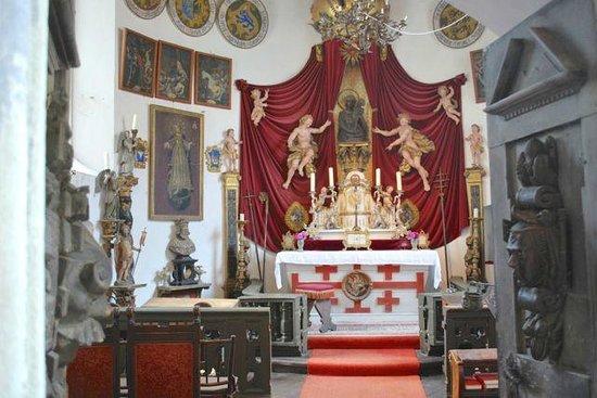 Burg Meersburg: The Prince chapel