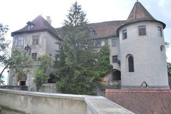 Burg Meersburg: Exterior towers