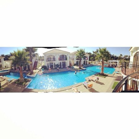 Hotel Serena Dream: esta foto esta tomada desde el balcon