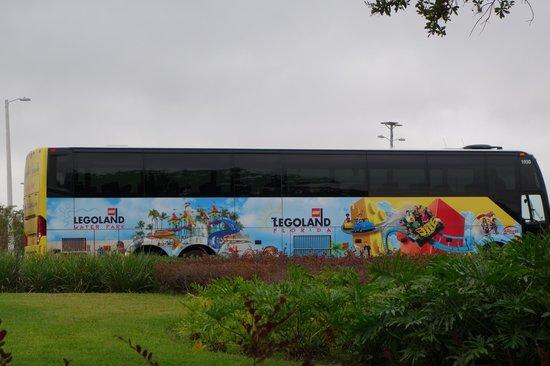 LEGOLAND Florida Resort: ônibus para legoland