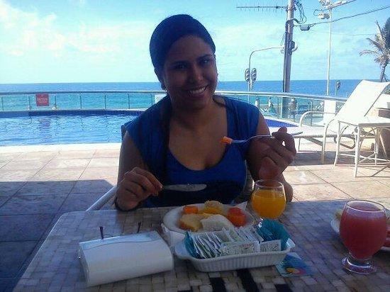 Monte Pascoal Praia Hotel Salvador : café