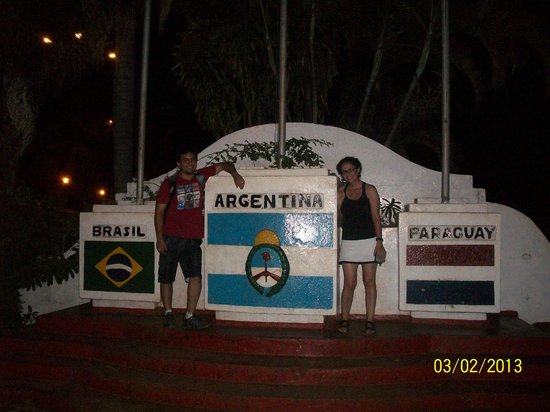 Cabanas Maria Belen : triple frontera