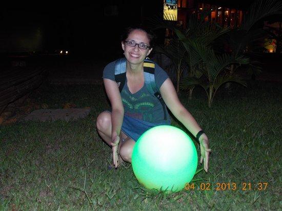 Cabanas Maria Belen : un poco de luz verde