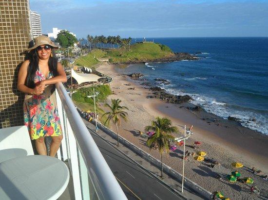 Monte Pascoal Praia Hotel Salvador: vista