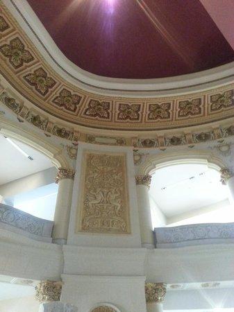 National Museum of Fine Arts: cafe arte universal