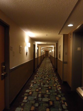 Fremont Hotel and Casino: Hallway