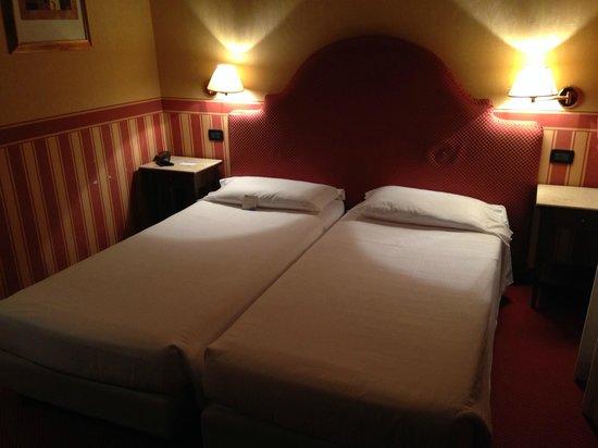 Hotel Tritone: camera