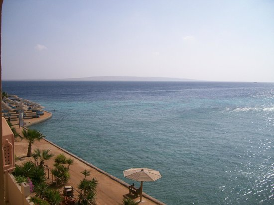 Sunny Days El Palacio Resort & Spa: great view from our balcony