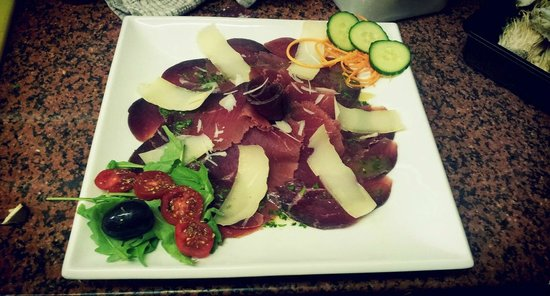 The Colosseum: bresaola