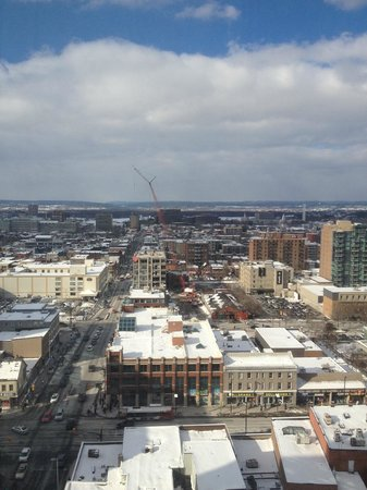 Les Suites Hotel Ottawa: Amazing View