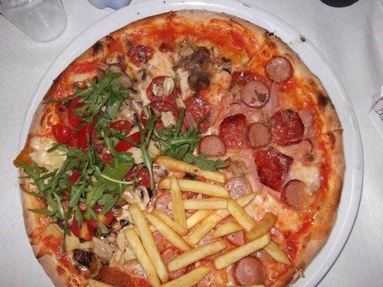 Hitchcock: Pizza extra farcita