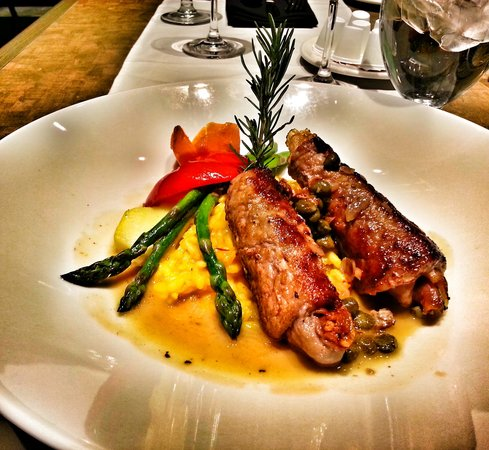 the veal is a must at Hotel Blackfoot!