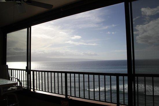 Maui Kai : view from the lanai (December 2013)