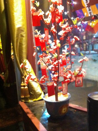 Bui Vietnamese Cuisine: Inside looking out...