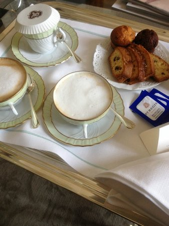 The St. Regis Florence : Morning Cappuccino