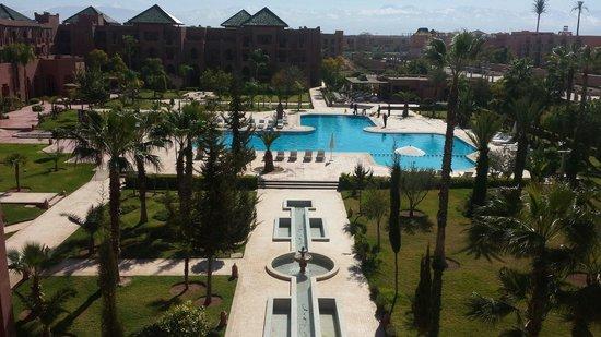 Palm Plaza Marrakech Hotel & Spa : Piscine