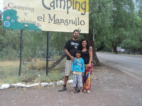 Camping El Mangrullo: acceso al camping