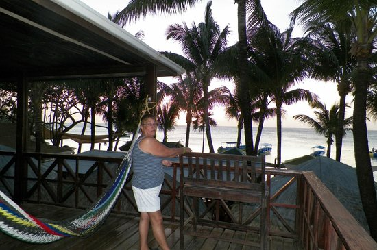 Bananarama Beach and Dive Resort : atardecer