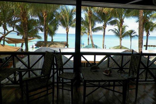 Bananarama Beach and Dive Resort: terraza