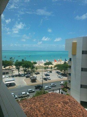 Radisson Hotel Maceio: Vista do apartamento quinto andar