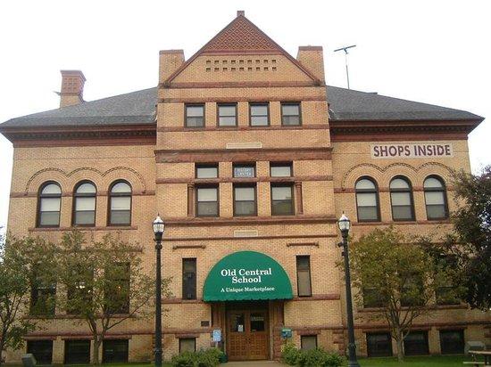 The Cedars Dining Room: Old central school