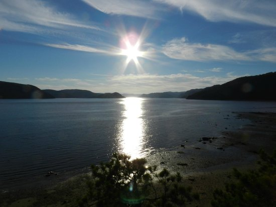 Saguenay Fjord National Park : Sunset