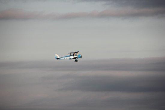 Fly Back In Time: In flight