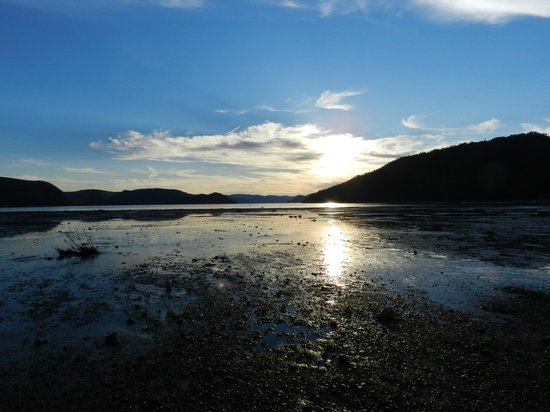 Saguenay Fjord National Park : Late afternoon low tide, Baie-Ste-Marguerite