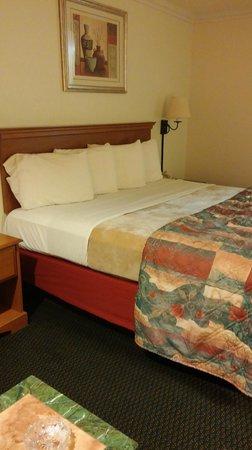 Americas Best Value Inn : Fresh clean bed.