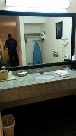 Americas Best Value Inn : Sink area