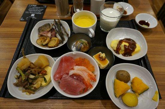 「ドーミーインPREMIUM札幌 朝食」の画像検索結果